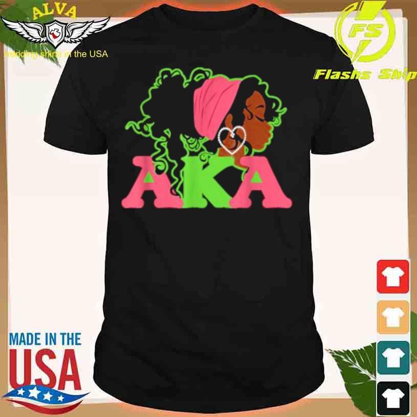 AKA Sorority Alpha Kappa Pretty Girls Wear Twenty Pearls Shirt