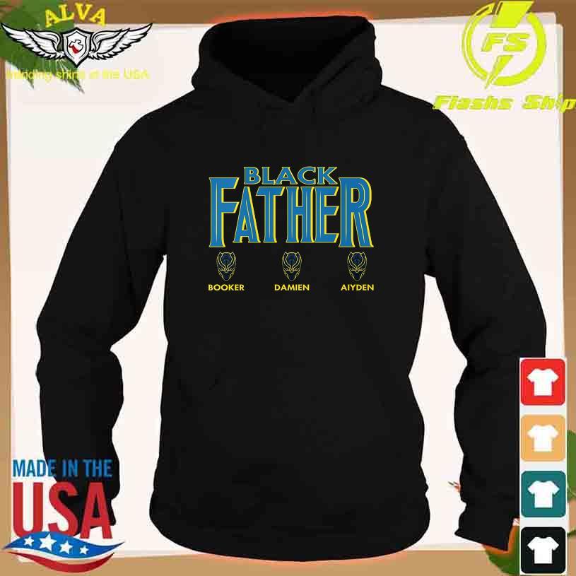 Black Father Booker Damien Aiyden s hoodie