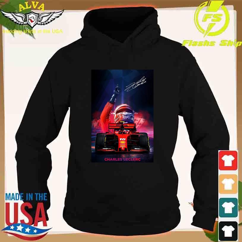 Charles Leclerc 16 Amda Mahls signature s hoodie