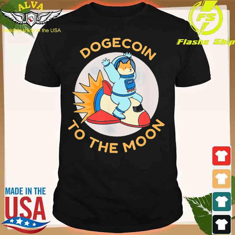Cryptocurrency Coin Dodgecoin Holder Bitcoin Blockchain Shirt