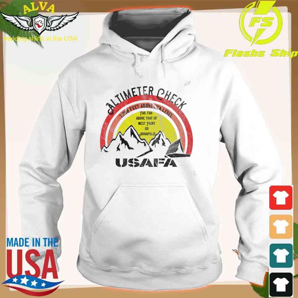 USAFA Altimeter Check at 7258 Feet Shirt hoodie