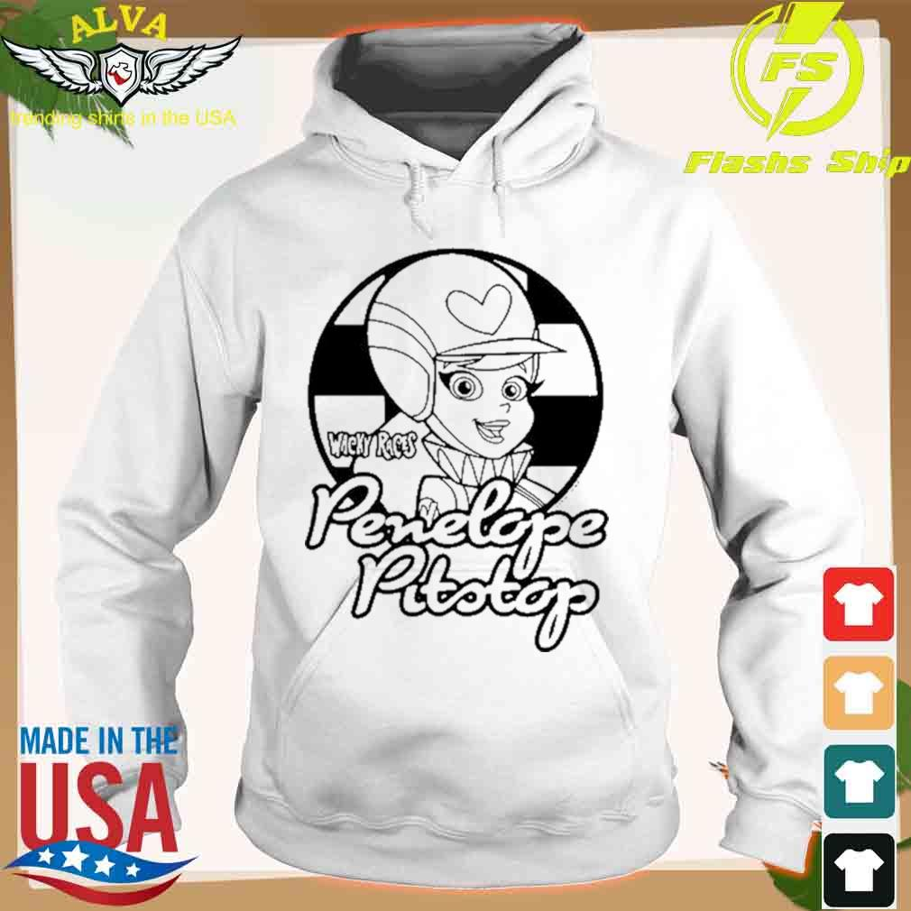Wacky Races Penelope Pitstop T-s hoodie