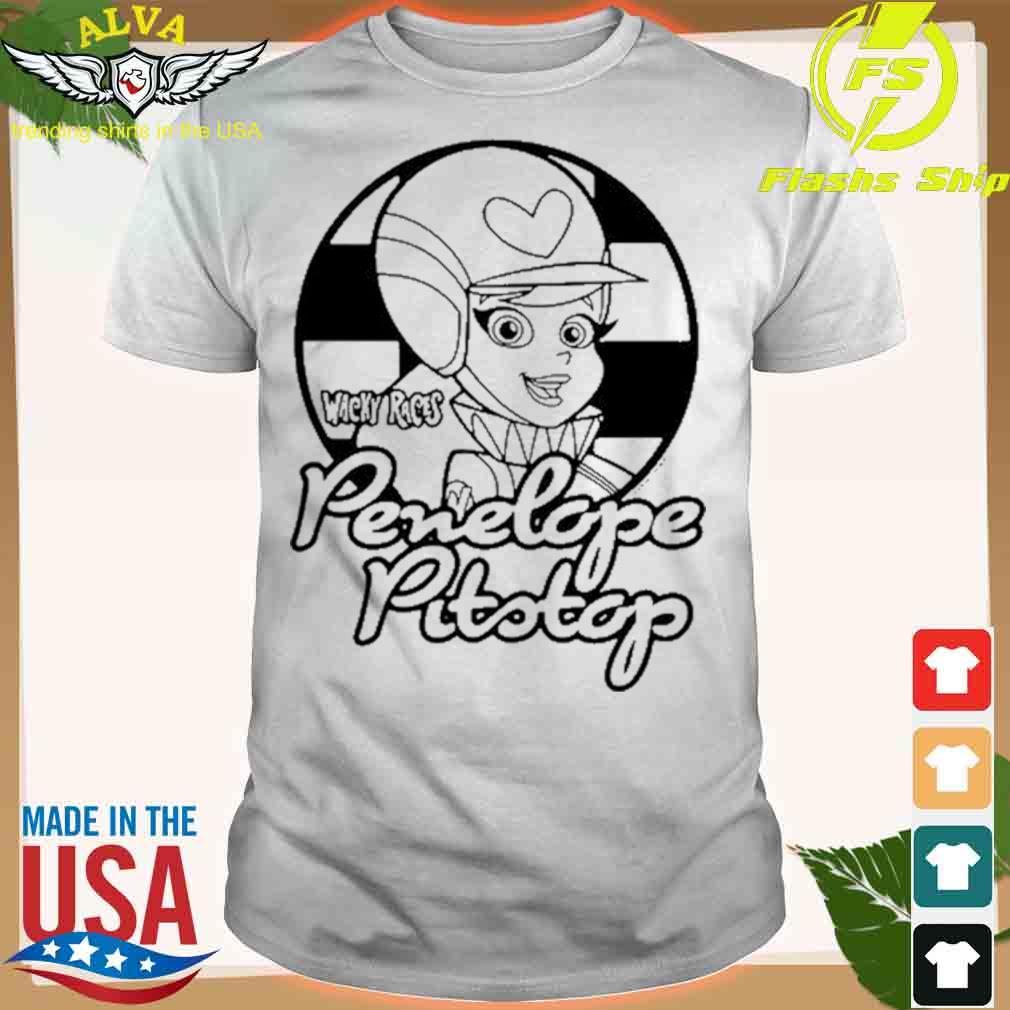 Wacky Races Penelope Pitstop T-shirt