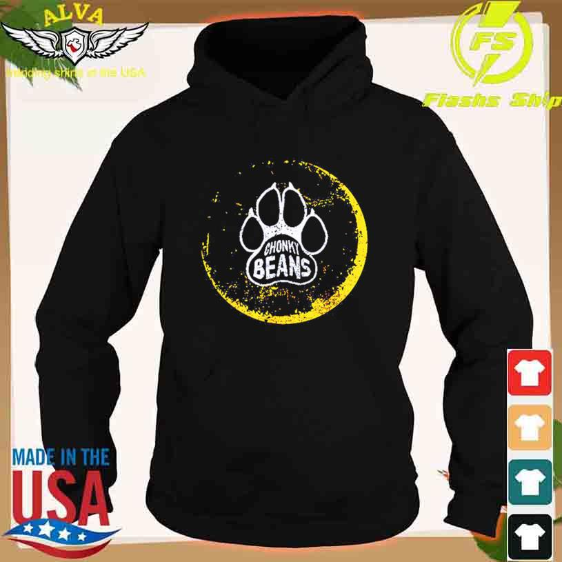Chonke Beans Official Wolf Conservation Foot Print Shirt hoodie