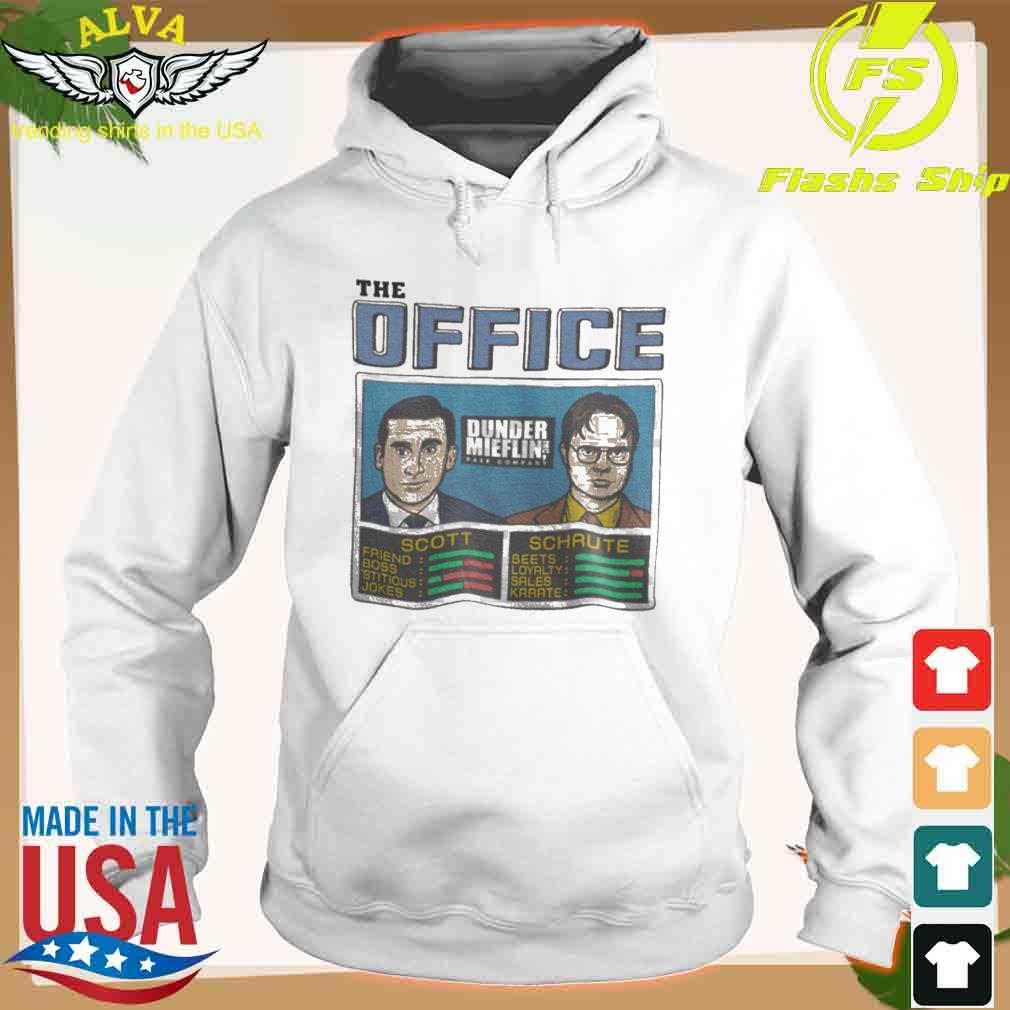 The Office Scott And Schaute Shirt hoodie