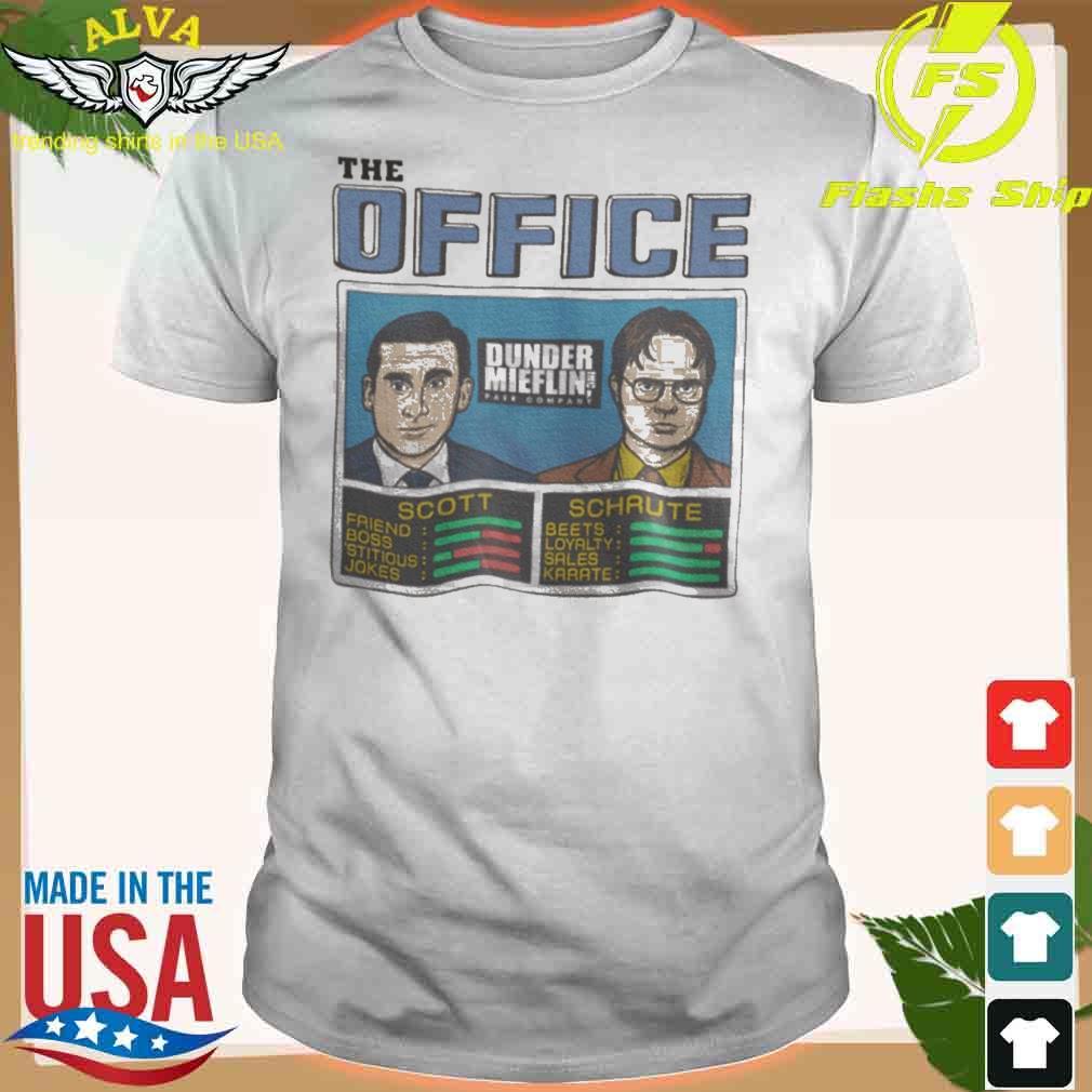 The Office Scott And Schaute Shirt